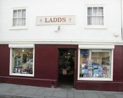Contact us - Ladds shop exterior